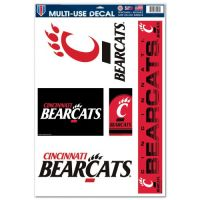 "University of Cincinnati Multi Use Decal 11""x17"""