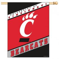 University of Cincinnati Vertical Flag