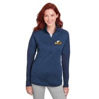 1343103 Under Armour Ladies' Qualifier Hybrid Corporate Quarter-Zip