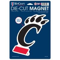 University of Cincinnati Die-Cut Logo Magnet