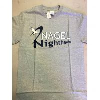 Nagel Nighthawks Gray Tee Shirt