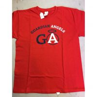 Guardian Angels Red Tee Shirt