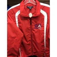 Guardian Angels Red Windbreaker