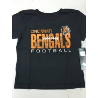 Black Toddler Cincinnati Bengals Football Tee