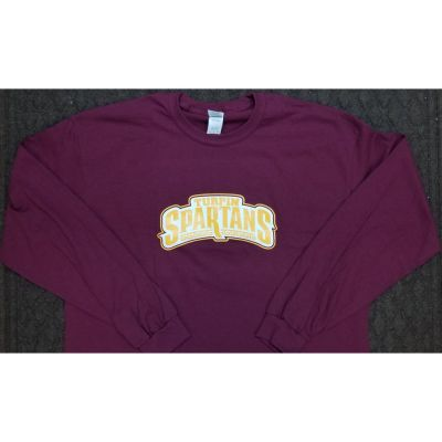 Turpin Maroon Long Sleeve Tee