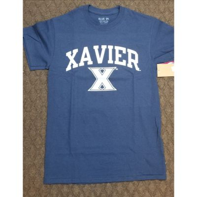 Xavier Navy 100% Cotton Tee