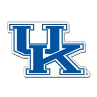 University of Kentucky Acrylic Team Magnet