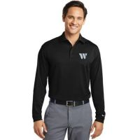 466364 Nike Golf Long Sleeve Dri-FIT Stretch Tech Polo