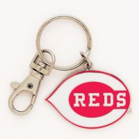 Cincinnati Reds Cloisonne Key Ring Carded