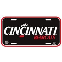 University of Cincinnati License Plate