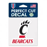 "University of Cincinnati Perfect Cut Color Decal 3""x3"""