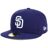 New Era 59FIFTY San Diego Padres Blue Cap
