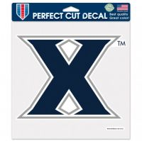 "Xavier University Perfect Cut Color Decal 4""x4"""