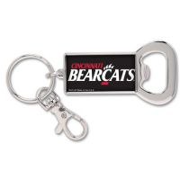 University of Cincinnati Bottle Opener Key Ring