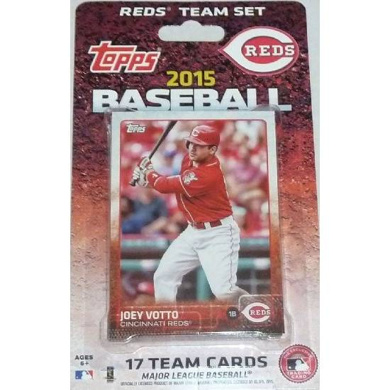 Cincinnati Reds Topps 2015 Baseball Card Team Set