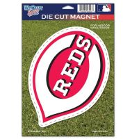 "Cincinnati Red Die Cut Logo Magnet 6.25"" x 9"""