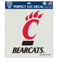 "University of Cincinnati Perfect Cut Color Decal 4""x4"""