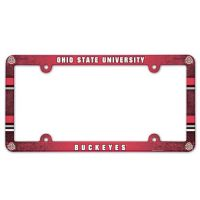 Ohio State Full Color License Plate Frame