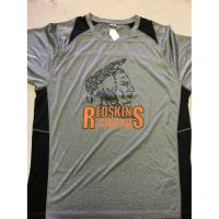 Anderson Redskins Gray w/ Black Trim Tee Shirt