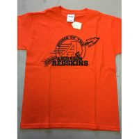 Home of the Anderson Redskins Orange Tee Shirt