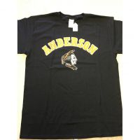 Anderson Redskins Black Colored Head Tee Shirt