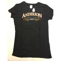 Anderson Redskins Black Forest Hills Women's Tee Shirt