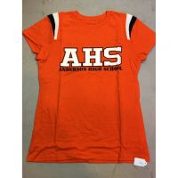 Anderson Redskins Orange AHS Women's Tee Shirt