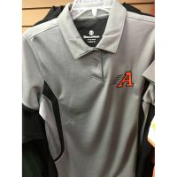 Anderson Redskins Gray Button Polo