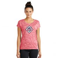 Anderson Aces Ladies Electric Heather Tee