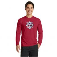 Anderson Aces Long Sleeve Performance Blend Tee