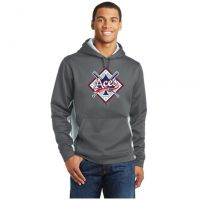 Anderson Aces Sport-Tek Fleece Colorblock Hooded Pullover