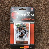 Score/Panini 2014 Bengals Team Football Card Set