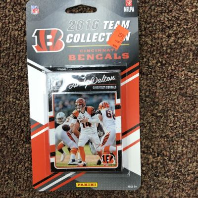 Score/Panini 2016 Bengals Team Football Card Set