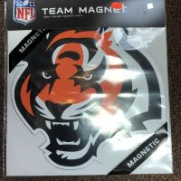 Bengals Team Magnet - Tiger Head
