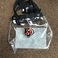 Cincinnati Bengals Clear Stadium Bag