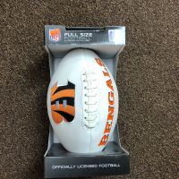 Bengals Full-Sized Football w/ Autograph Marker