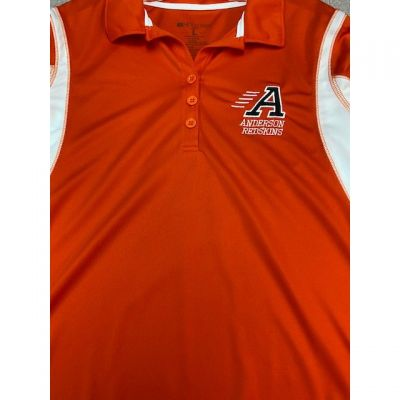 Anderson Holloway Orange Ladies Polo
