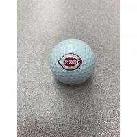Cincinnati Reds Logo Golf Ball
