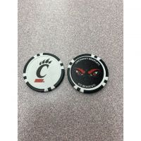 University of Cincinnati Poker Chip