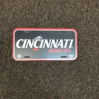 University of Cincinnati Wincraft License Plate