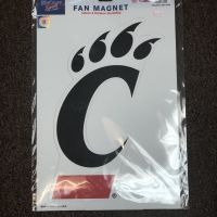 U of Cincinnati Wincraft Indoor/Outdoor Large Magnet
