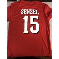 "Majestic Dri-Fit Cincinnati Reds Red ""Senzel"" Shirt"