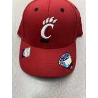 Top of the World University of Cincinnati Youth Red Flexfit Cap