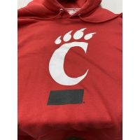 Champion University of Cincinnati C-Paw Red Hoodie