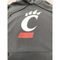 Champion University of Cincinnati Black C-Paw Hoodie