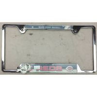 Cincinnati Reds Chrome License Plate Frame
