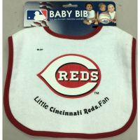 Cincinnati Reds Terry Belour Pullover Baby Bib