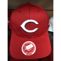 OC Sports All Red C Logo Cincinnati Reds Baseball Cap