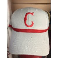 American Needle Gray Old C Logo Cincinnati Reds Baseball Cap