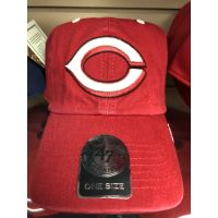 '47 Brand All Red Dropshadow C Logo Cincinnati Reds Baseball Cap